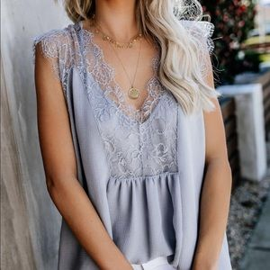 From a Dream Lace Top